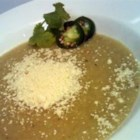 Chayote Soup - This recipe will fool you into thinking you're eating a cream-based soup. It's spicy, different, and really pretty. It's extremely versatile. Tastes best when it's made at least a day in advance.