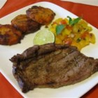 Caribbean Beef Loin Steaks - These steaks are flavored with a Caribbean-style marinade.