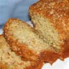 Banana Bread V - This recipe makes a very moist loaf, owing to the addition of a little milk and a lot of banana.
