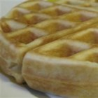 Sour Cream Waffles - These waffles substitute sour cream and yogurt for milk. The inspiration came about one morning when there was no milk in the house.