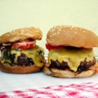 Ranch Burgers - The beef burgers stay juicy and delicious on the grill or stove top! Serve on buns with your favorite condiments.