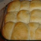 Virginia Clise Bread - These are by far the best rolls I've ever had!  My neighbor's mom makes these and passed the recipe along. They are scrumptious! This recipe makes a lot of rolls. You can freeze the dough after forming it into rolls.