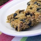 Whole Wheat Cereal Bars - Whole wheat cereal biscuits are mixed with honey, peanut butter and raisins for this delicious bar.