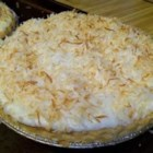 Coconut Cream Pie VIII - You can use fresh coconut as the recipe calls for (it's to die for!) or you can use frozen or other coconut.