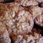 Oatmeal Chocolate  Coconut Chewy - A chewy oatmeal cookie with chocolate chips, shredded coconut, and chopped nuts.  Great with or without nuts and coconut.