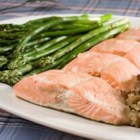 Poached Salmon I - This salmon is poached with marvelous ingredients like onions, carrots, celery, and wine. Don't pass this one by! Hollandaise sauce is the perfect accompaniment for this dish.