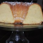 Grandma's Sour Cream Pound Cake - This is a moist pound cake that is baked in a Bundt pan. This is a recipe the whole family loves. It's always a hit!