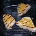 Grilled Tuna Steaks with Dill Sauce - A simple sauce made with dill and mustard tops grilled tuna steaks in this simple recipe for the grill.