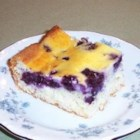 Blueberry Bars - These bars taste like blueberry cheesecake.