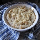 Fluffy Haddock and Potato Pie - Haddock is poached in milk and then blended into mashed potatoes and baked in this version of a classic comfort dish from the United Kingdom.