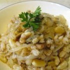 Barley Bake - This imaginative barley and pine nut side dish will bring tasty excitement to your table!