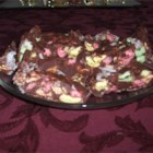 Church Windows II - This is a cookie which is made into a roll; when cut it resembles stained glass windows in churches.