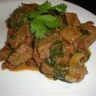 Beef and Spinach Curry Recipe