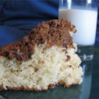 Quick Coffee Cake - This coffee cake is wonderful, the cake itself it moist and delicious while the topping is slightly crunchy and sweeter. Together, they make a delightful combination that you will surely enjoy!