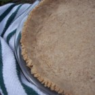 Mock Graham Cracker Crust - I used to wonder why I disliked cheesecake and key lime pie, since I like cream cheese pastry and lemon pie. Then I tried a key lime pie in a shortbread crust and realized it was the graham cracker crust I disliked. Both these desserts need a darker than usual crust, however.