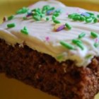Baby Food Cake II - This cake is moist and flavorful. Frost with cream cheese frosting and garnish with chopped nuts.