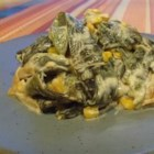 Rajas Poblanas (Poblano Strips) - Serve this creamy Mexican pepper dish with warm corn tortillas.