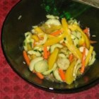 Marinated Vegetable Salad - Celery seed dressing is used to marinate this mixture of vegetables.