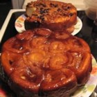 Sticky Buns - A delicate sweet dough that's topped with a gooey mixture of pecans, cinnamon and brown sugar.
