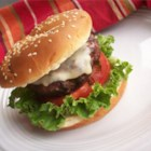 "Tex-Mex Burger with Cajun Mayo - ""A jazzy way to spice up the boring basic burger that will tantalize your taste buds! Cajun spiced mayonnaise is the perfect complement to these spicy beef burgers."""