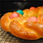 Braided Easter Egg Bread Recipe
