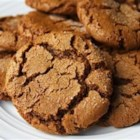 "Mom's Ginger Snaps - With just a few ingredients and even fewer steps, this recipe for fabulous, spicy ginger snap cookies is truly a ""snap"" to make!"