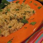 Orange Cilantro Rice - Bright flavors meld to produce a one-of-a-kind rice dish. To really bring out the orange flavor, try using juice with lots of pulp.