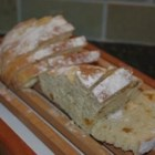 Irish Soda Bread II - Another white soda bread, this one features buttermilk and raisins, and a quick shake of caraway seeds on top.