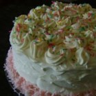 White Mountain Cake - This is a great showpiece of a cake. Top with White Mountain Frosting.