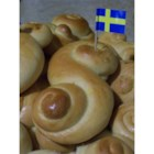 Swedish Saffron Buns - These traditional, raisin-studded, Swedish saffron buns are frequently baked around Christmas time. They are a very tasty and lovely tradition!