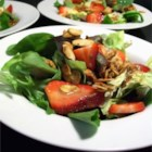 Strawberry Salad with Shallot-Honey Vinaigrette Recipe