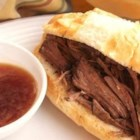 Best Beef Dip Ever - A favorite with all my family and friends. Throw all the ingredients into slow cooker, head to work, and dinner will be ready when you get home.