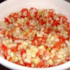 Shirazi Salad - This is an easy recipe that is great for the end of summer with cucumber, tomato and onion. Simple and delicious.