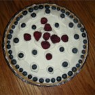 Strawberry Delight Dessert Pie - This is a layered dessert with cream cheese, strawberries and instant vanilla pudding.