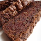 Chocolate Zucchini Bread I - Zucchini and a double dose of chocolate star in this moist and sweet quick bread.