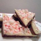 Peppermint Bark - This layered peppermint bark is a delectable blend of semisweet chocolate, white chocolate, and peppermint.