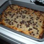 Peanut Butter/Chocolate Chip Cookie Bars - Easy to make, good to eat!