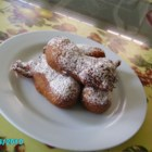 Banana Fritters - Banana fritters, spiced with cinnamon and nutmeg.