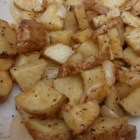 Microwaved Potatoes Lyonnaise - In just minutes you'll be serving up this savory dish of potatoes and onions microwaved with garlic, spices and herbs.