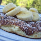 Banana Frittata - Here's a quick and easy banana pancake recipe that anyone can make.