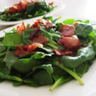Hot Bacon Dressing - This warm dressing immerses crunchy bacon bits in a sweet, thickened vinaigrette for an old-time taste treat!
