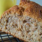 Whole Wheat Beer Bread - A hearty quick bread that's great with soup or chili and makes excellent toast. Flavor of bread will change, depending on type of beer used.