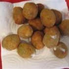 Dad's Magic Bar Olives - Yummy, oozing, fried green olives! A very unique appetizer that is great to have on hand in the freezer for impressing unexpected guests!