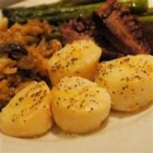 Amber's Devils on Horseback - A mouth watering and very easy baked scallop dinner.