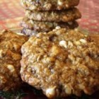 Momma's Wheat Germ Cookies - Oatmeal cookies with several bonus ingredients such as wheat germ, coconut, pecans, coconut and dates.