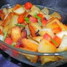 Striker's Potatoes O'Brien - Keep this tasty mix of potatoes, onions, and bell peppers in the freezer for quick and easy breakfasts.
