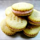 Cream Wafers - Cookies with a creamy butter filling.