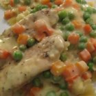 Creamy Chicken -  A concentrated creamy chicken sauce for chicken flavor through and through.
