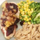 Pineapple Cranberry Chicken - Chicken breasts baked with cranberry sauce, pineapple and cinnamon.