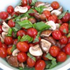 Byrdhouse Marinated Tomatoes and Mushrooms - The flavors of both tomatoes and mushrooms keep blending together in this dish, so it is great the day you make it and even better the following day.